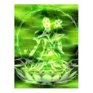 Buddha-Energie 5 Tara Postkarte
