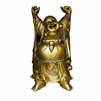 Buddha Freistehende Fotoskulptur