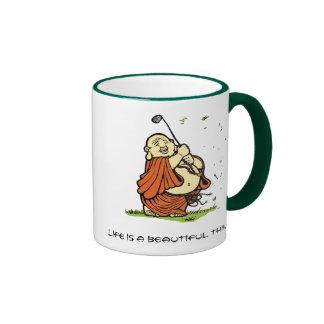 Buddha-Golf-Tasse - besonders angefertigt