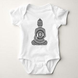 Buddha GraphiZen Baby Strampler