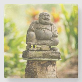 Buddha im hawaiischen Garten Steinuntersetzer