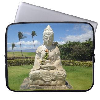 Buddha in Waikoloa, Hawaii Laptop Sleeve