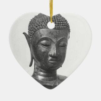 Buddha-Kopf - 15. Jahrhundert - Thailand Keramik Ornament