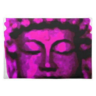 Buddha Kopf Stofftischset