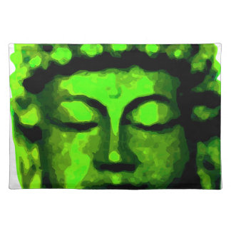 Buddha Kopf Tischset