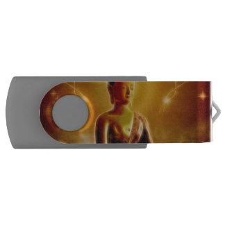 Buddha mit glühendem Licht USB Stick