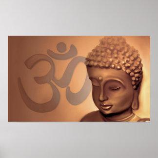 Buddha om poster