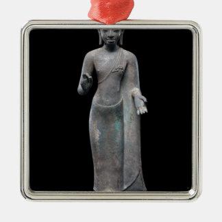 Buddha-Predigen Silbernes Ornament