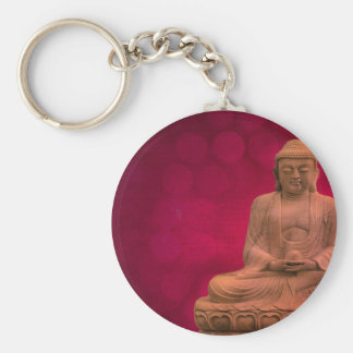buddha red schlüsselanhänger