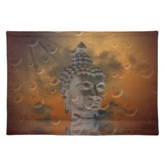 Buddha Stofftischset