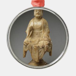 Buddha - Tang-Dynastie (618-907) Silbernes Ornament