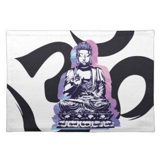 Buddha-Welle 3 Stofftischset