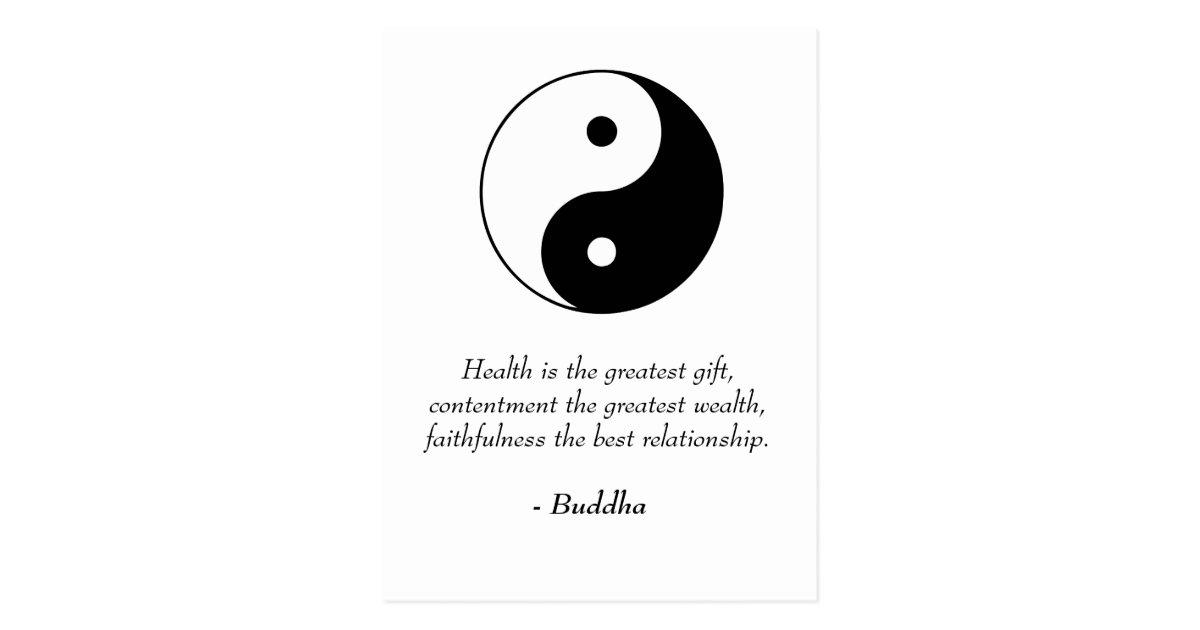 Citaten Over Gezondheid : Buddha zitate gesundheit zufriedenheit treue postkarte