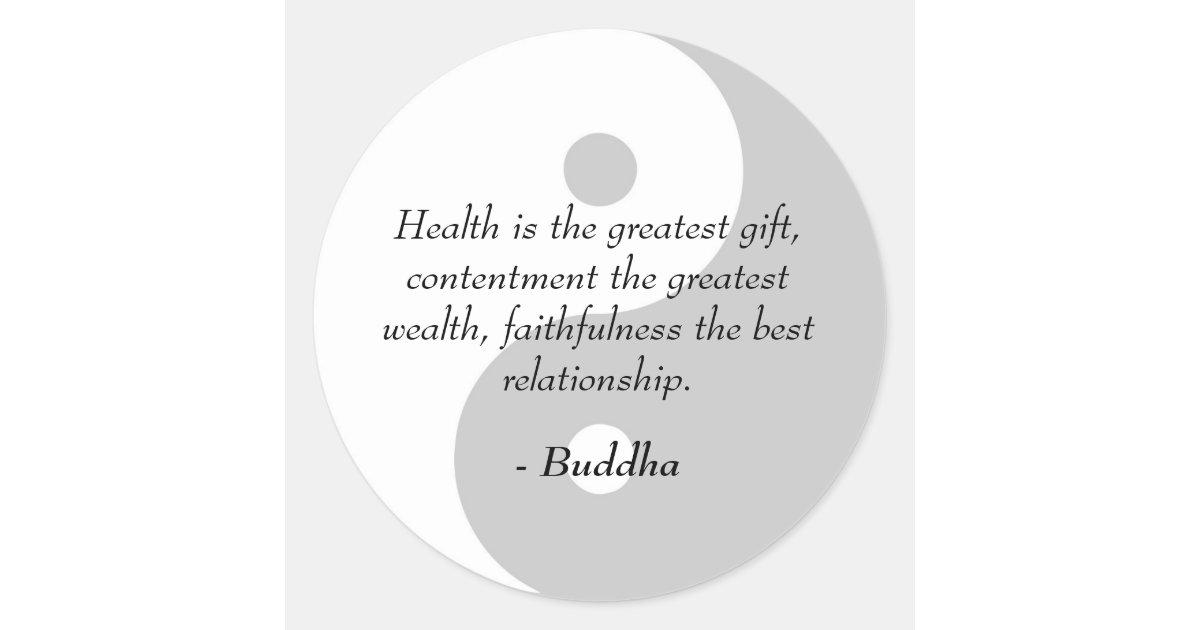 Citaten Gezondheid : Buddha zitate gesundheit zufriedenheit treue runder