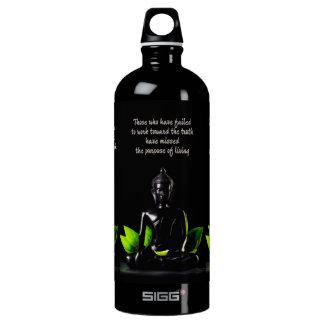 Buddha-Zitatreiseflasche Wasserflasche