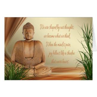 Buddhas Klugheits-Karte Karte