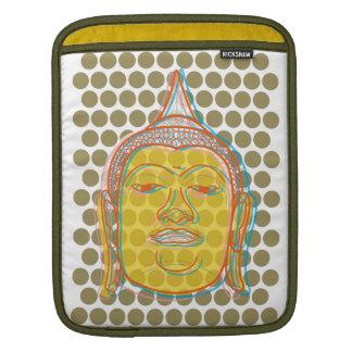 Buddhazen-moderner Pop punktiert Kunst-VektoriPad iPad Sleeve