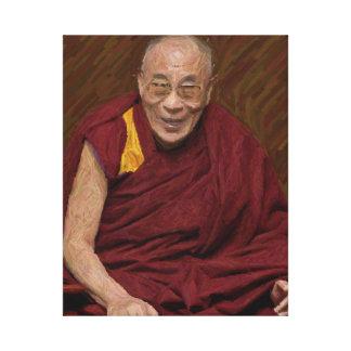 Buddhistische Buddhismus-Meditation Yog Dalai Leinwanddruck