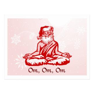 Buddhistische Sankt-Weihnachtskarte Postkarte