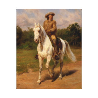 Buffalo Bill Cody durch Rosa Bonheur Leinwanddruck