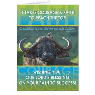 Büffel-Erfolg Karte