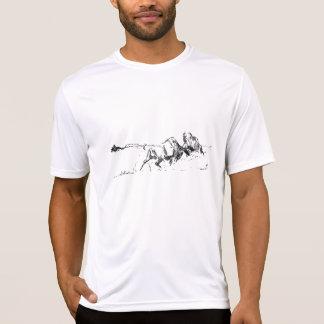 """Büffel-T - Shirt, """"wenn stoßen Titanen """" zusammen T-Shirt"""
