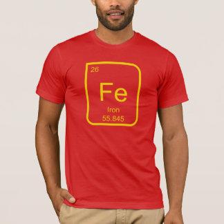 Bügeln Sie (Element) Mann-Kostüm T-Shirt