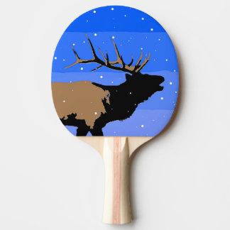Bugling Elche im Winter Tischtennis Schläger