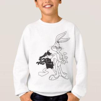 BUGS BUNNY ™ und DÄMLICHES DUCK™ Sweatshirt