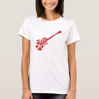 Bühne-Tauchen - Kylie Scott - rote Gitarre T-Shirt