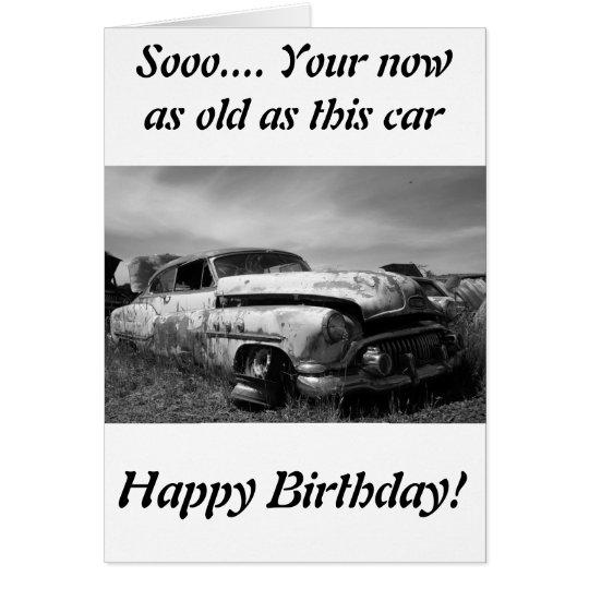 Buick- Classicauto-Gruß-Karte Grußkarte