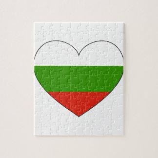 Bulgarien-Flagge einfach