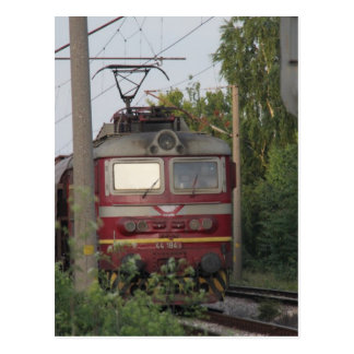 Bulgarischer Güterzug Postkarten