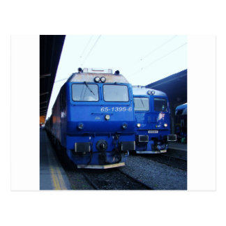 Bulgarischer Zug Postkarten