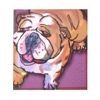 Bulldogge Memo Notizblock