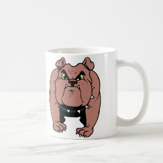 Bulldogge stark tasse