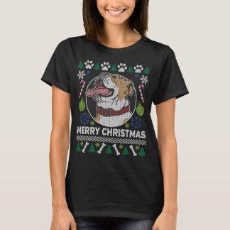 Bulldoggen-Hundezucht-hässliche T-Shirt