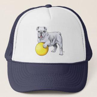 Bulldoggen-Illustrations-Hut Truckerkappe