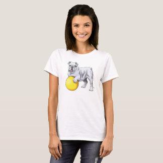 Bulldoggen-Illustrations-Shirt T-Shirt