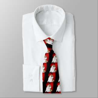 Bulldoggen-Liebe Individuelle Krawatte