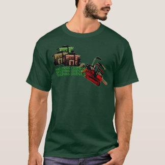 Bulldozerbenommenheit T-Shirt