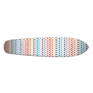 Bulles d'arc-en-ciel skateboard customisable