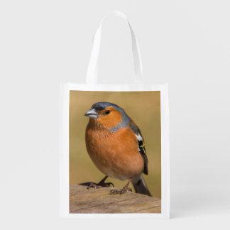 Bullfinch-wiederverwendbare Tasche Wiederverwendbare Einkaufstasche