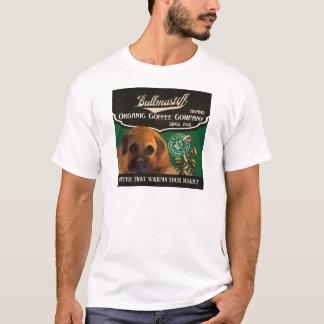 Bullmastiff Marke - Organic Coffee Company T-Shirt