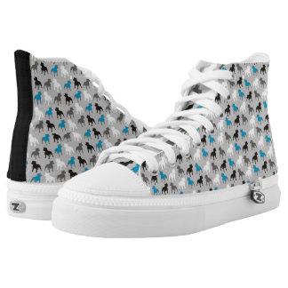 Bullterrier Hoch-geschnittene Sneaker