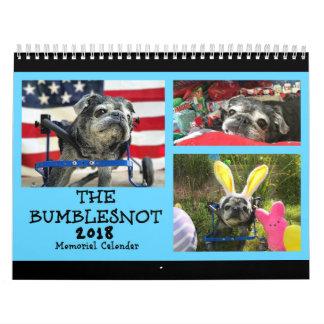 Bumblesnot 2018 Denkmal-Kalender Wandkalender