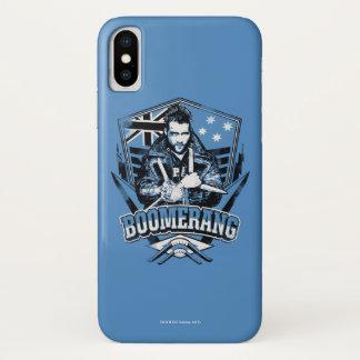 Bumerang-Abzeichen der Selbstmord-Gruppe-| iPhone X Hülle