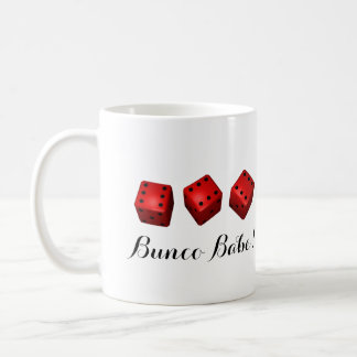 Bunco Baby oder Ihre Namenswürfel Kaffeetasse