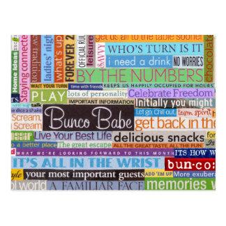 Bunco Baby Postkarte