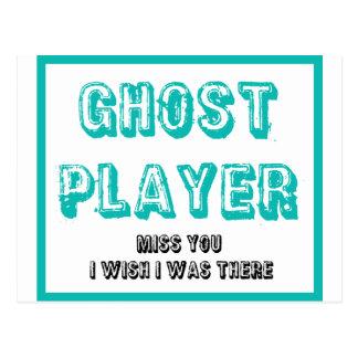 bunco Geistspieler Postkarte